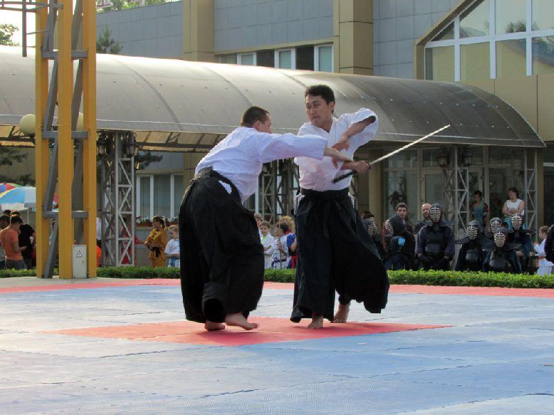 Мастера боевых искусств из России, Севера и Юга Кореи выступили в Уссурийске