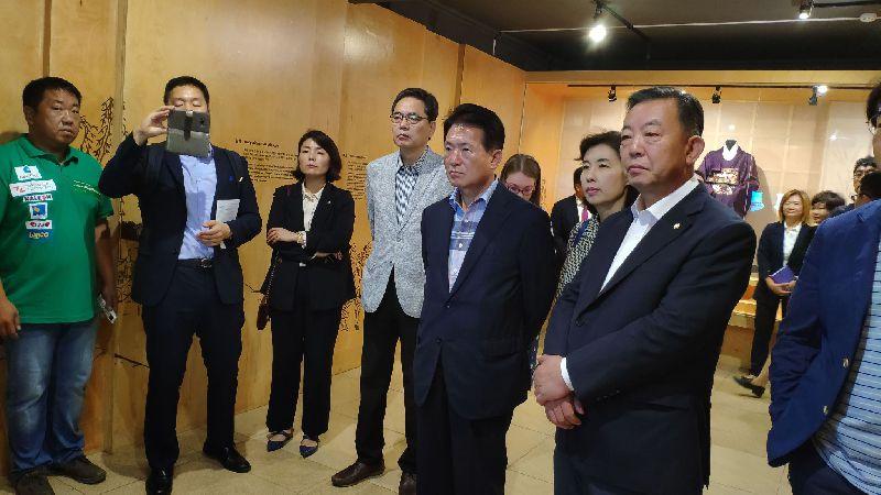 Корейский культурный центр г. Уссурийска посетил председатель  комитета по образованию Национальной ассамблеи РК