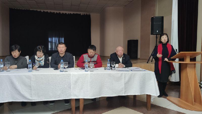 Отчетное собрание Национально-культурной автономии корейцев г. Уссурийска и общества пожилых людей «Ноиндан»