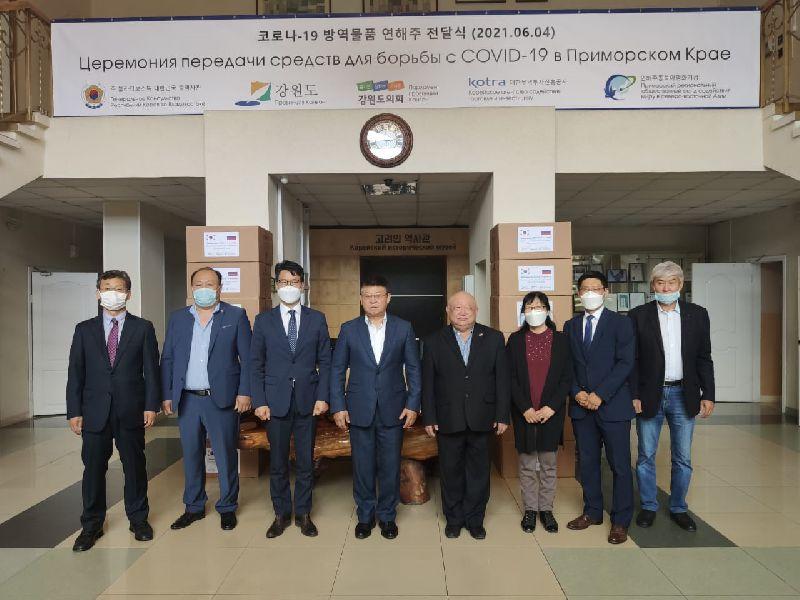В Уссурийск поступила партия защитных медицинских масок