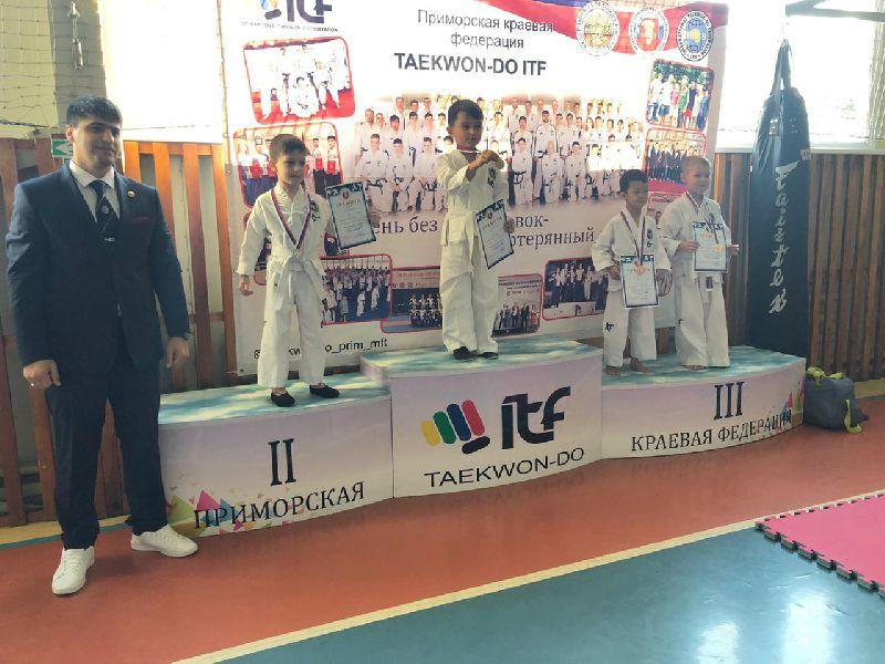 Приморская краевая федерация тхэквон-до МФТ  провела внутриклубный турнир в СК «Дружба»