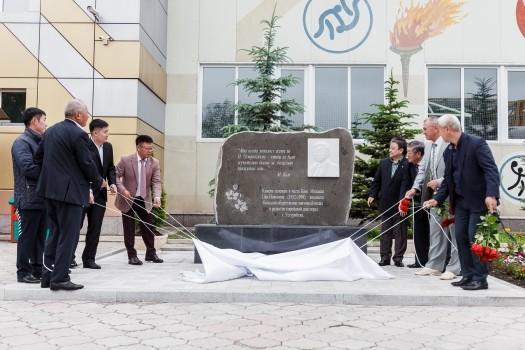 На территории Корейского центра открыт памятник Ким Михаилу Петровичу